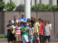 Utah Team at Temple Square