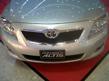MOBIL TOYOTA ALTIS