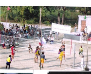 Volley Ball nursery in SRSP
