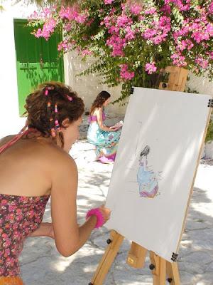 καλλιτεχνικές αναζητήσεις στη Χώρα, ©coby