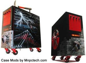 Pink Floyd computer case mod