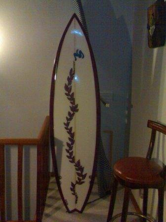 6'1''shortboard,  1º premio do metting