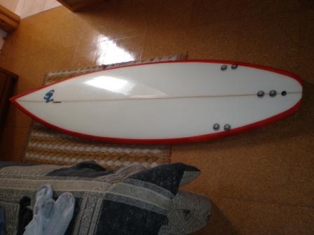 shortboard 6'4''