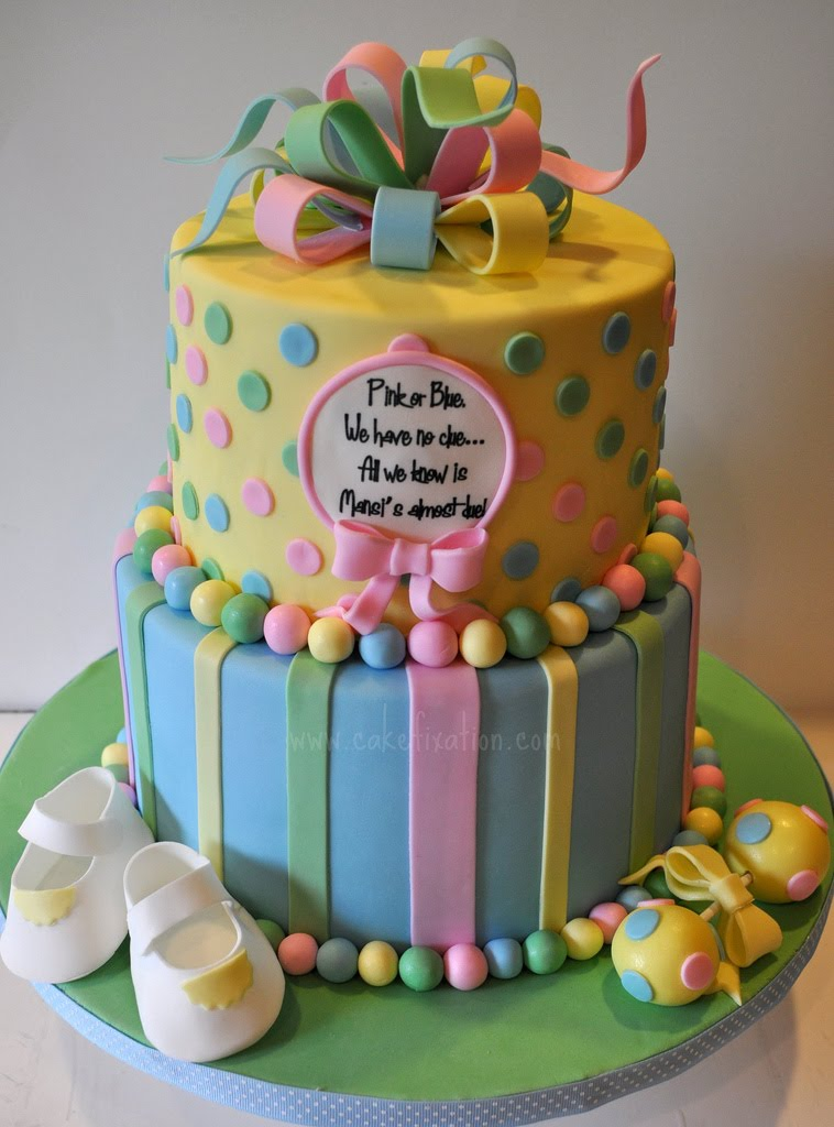 free cake info neutral baby shower cake