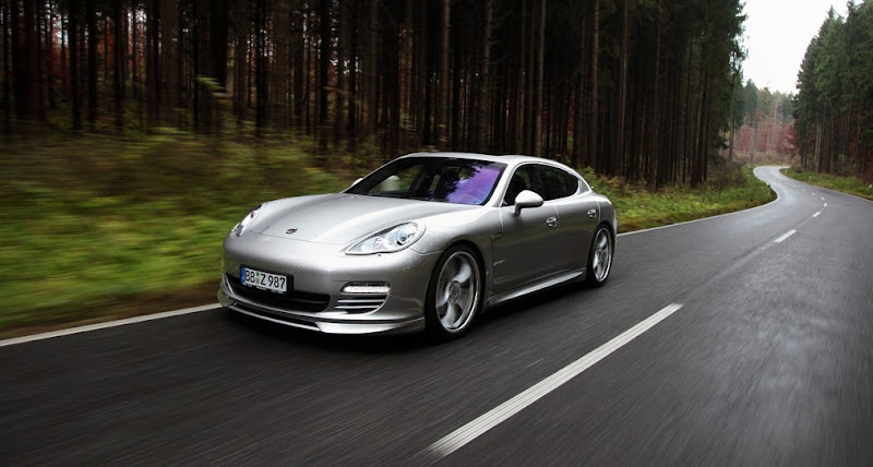 2010 TechArt Porsche Panamera Silver Color