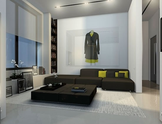 Contemporary Interior Design For Apartment