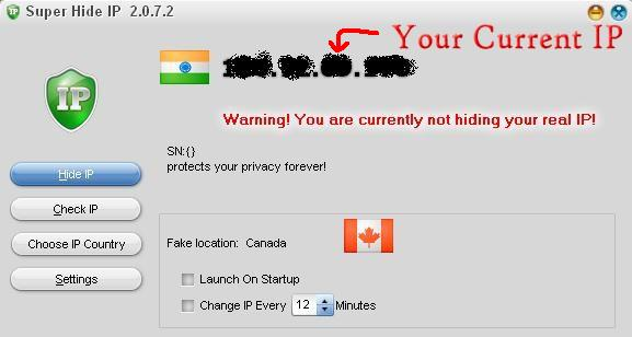 how to change your ip country location