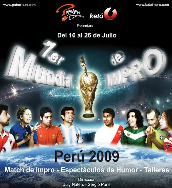 1er Mundial de Impro Perú 2009