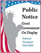 National Newspaper Week Logo