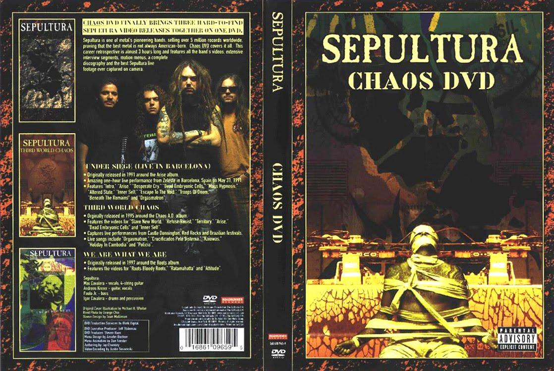 Jual WTS  Jualan Music Murah Bangetzzzzz     Sepultura Chaos Ad Album