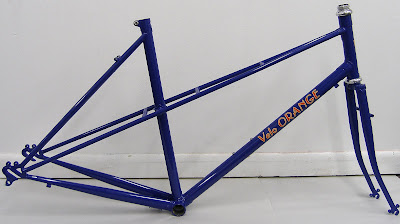 a few vo mixte frame prototypes have arrived as with most prototypes there are a few small problems fork bend missing cable guides etc but overall they - Mixte Frame