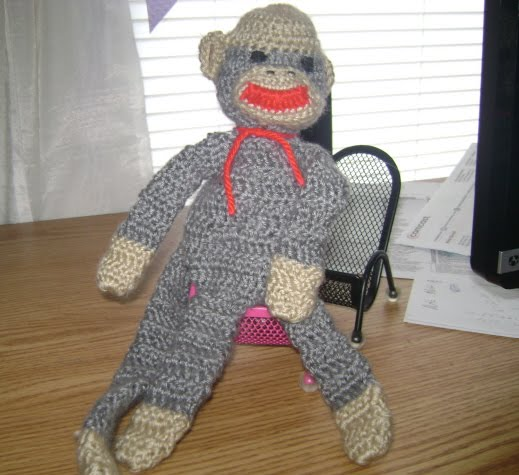 Crochet An Amigurumi Corner : Britts Crochet Corner: Sock Monkey - Signed Sealed and ...
