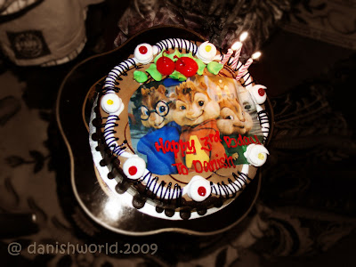 Alvin and the Chipmunks Birthday Cake Idea