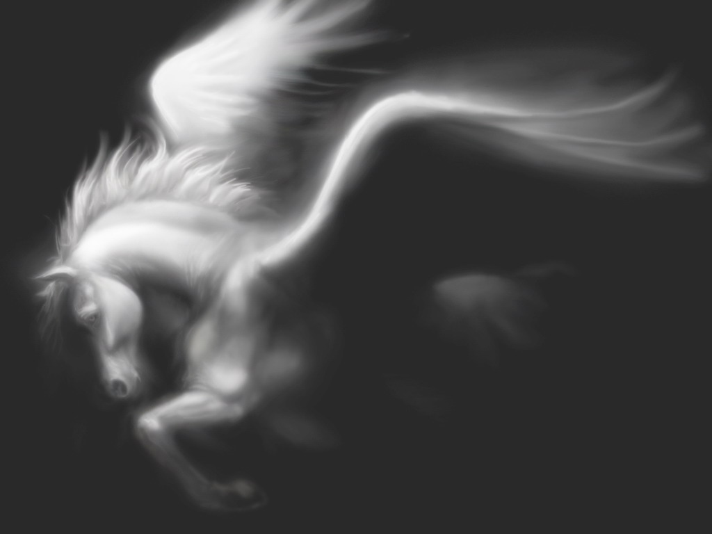 Seres mitologicos griegos Pegasus__fading_by_SMcNonnahs