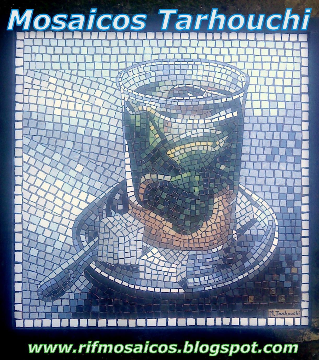 T marroqui mosaicos artist m tarhouchi art mosaic for Mosaico marroqui
