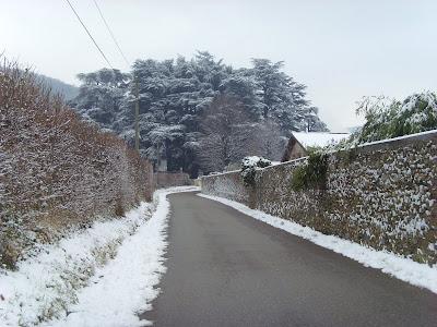 neige village france