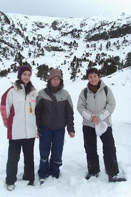 randonnée hiver lac achard