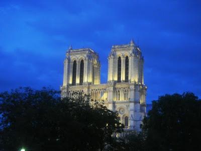 cathédrale notre dame nuit