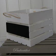 Sisustuslaatikko Kuutio liitutaulu