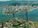 foto aérea Florianópolis