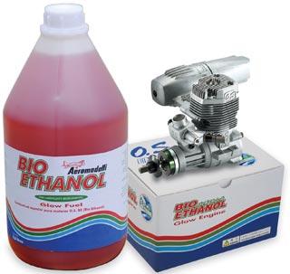 Bio-Ethanol para motores glow de aeromodelismo