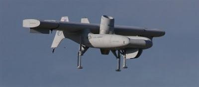 Excalibur, aeronave UAV con características VTOL