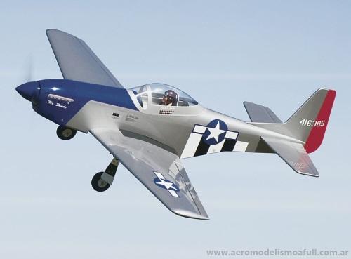 Great Planes P-51 Mustang .46-.70 ARF