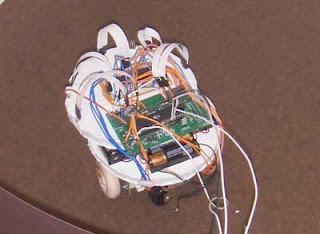 Neural Network Robot using Microcontroller ATmega 32