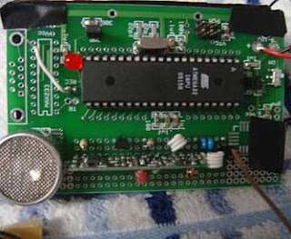 Microcontroller Project : Ultrasonic Spotlight Tracker