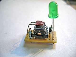Fireflies based on tiny AVR