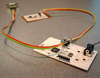 AVR Internet communications device