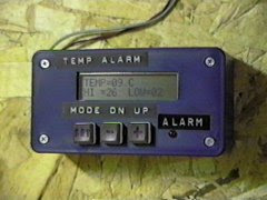 PIC-Based Temperature Alarm