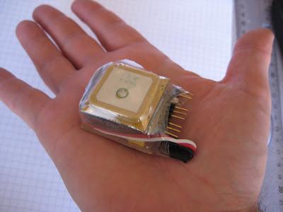 FV-M8 GPS module project