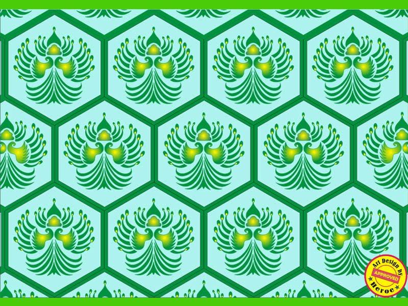 Batik Motif  Sayap Merak