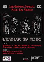 HOMENATGE ALS ESCLAUS DEL FRANQUISME 2010