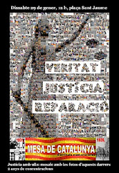 SETZENA CONCENTRACIÓ VERITAT, JUSTÍCIA I REPARACIÓ
