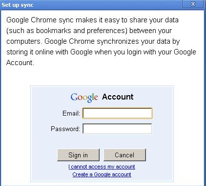 Sync all your bookmarks, extensions, theme, and browser preferences in Google Chrome on multiple ...