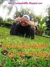 Nadya Bubble Giveaway