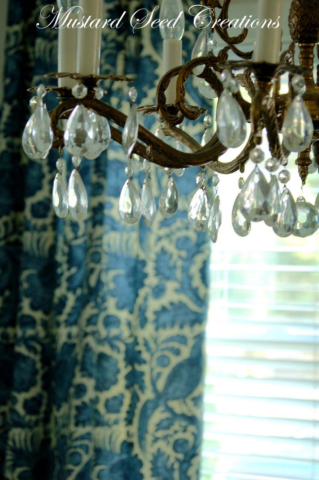 Sneak Peek Dining Room Curtains