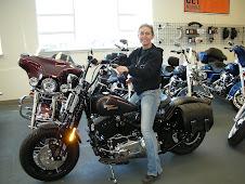 Diana's 2008 Harley-Davidson Cross Bones