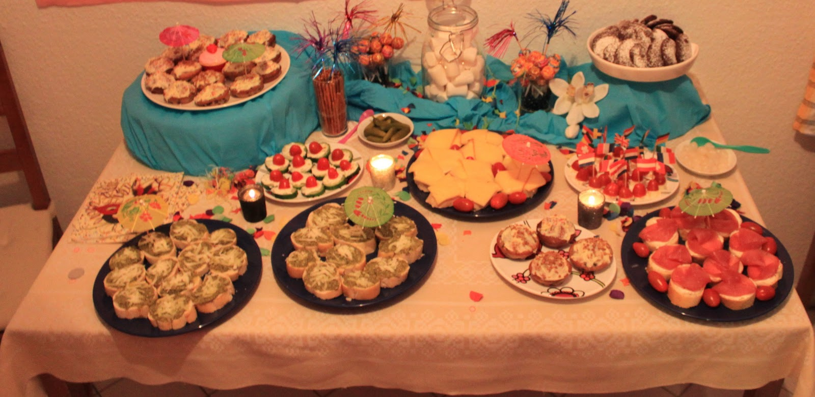 Fifties Party Food