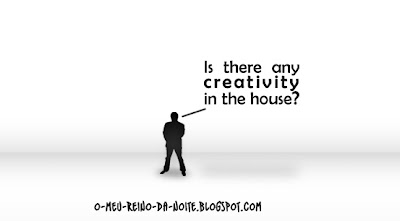 creativity in the house criatividade na casa white branco black preto humor funny fun humurous