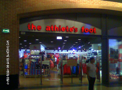 the athelet foot store loja o pé de atleta