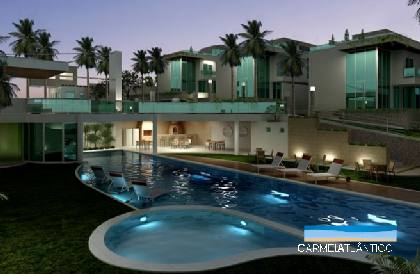 Pimentinhas do saber vendo uma tima casa for Casas con jardin grande