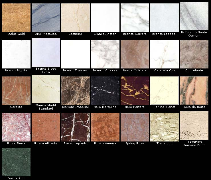 Aprenda a construir e reformar diferen as entre o granito - Tipos de granito ...