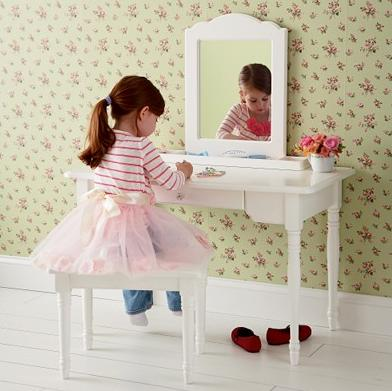 girls bedroom vanity and mirror set jpg
