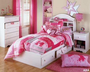 Simple Touch Kids Bedroom Design