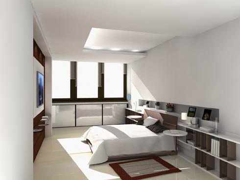 Modern Style Luxurious bedroom