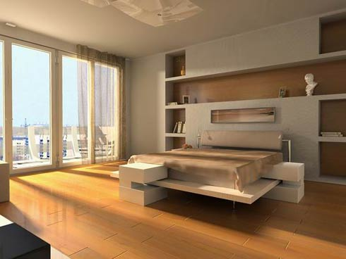 Bedroom Interior Design: Modern Style Luxurious bedroom