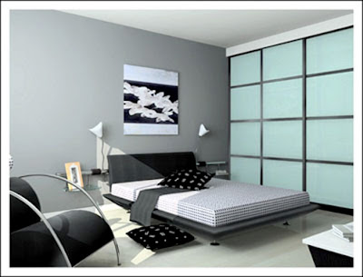 accessories: Black and White Bedroom Designs: Picture and design ideas